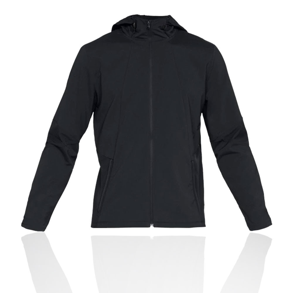 053a52bc29298 Finished with a dropped shaped hem the Under Armour Storm Cyclone Hooded  Jacket provides both a stylish finish and extra coverage  the perfect  versatile ...