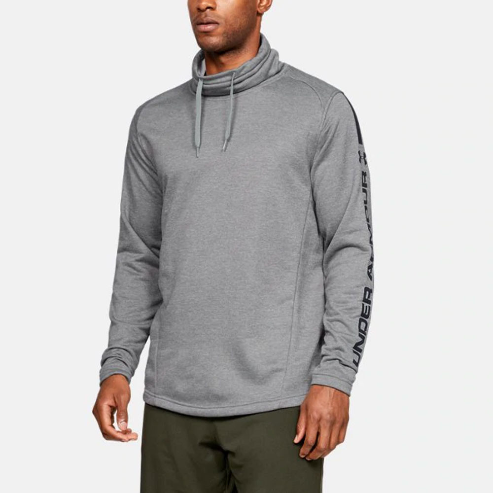 Under Armour MK-1 Terry Funnel Neck Long Sleeve Top