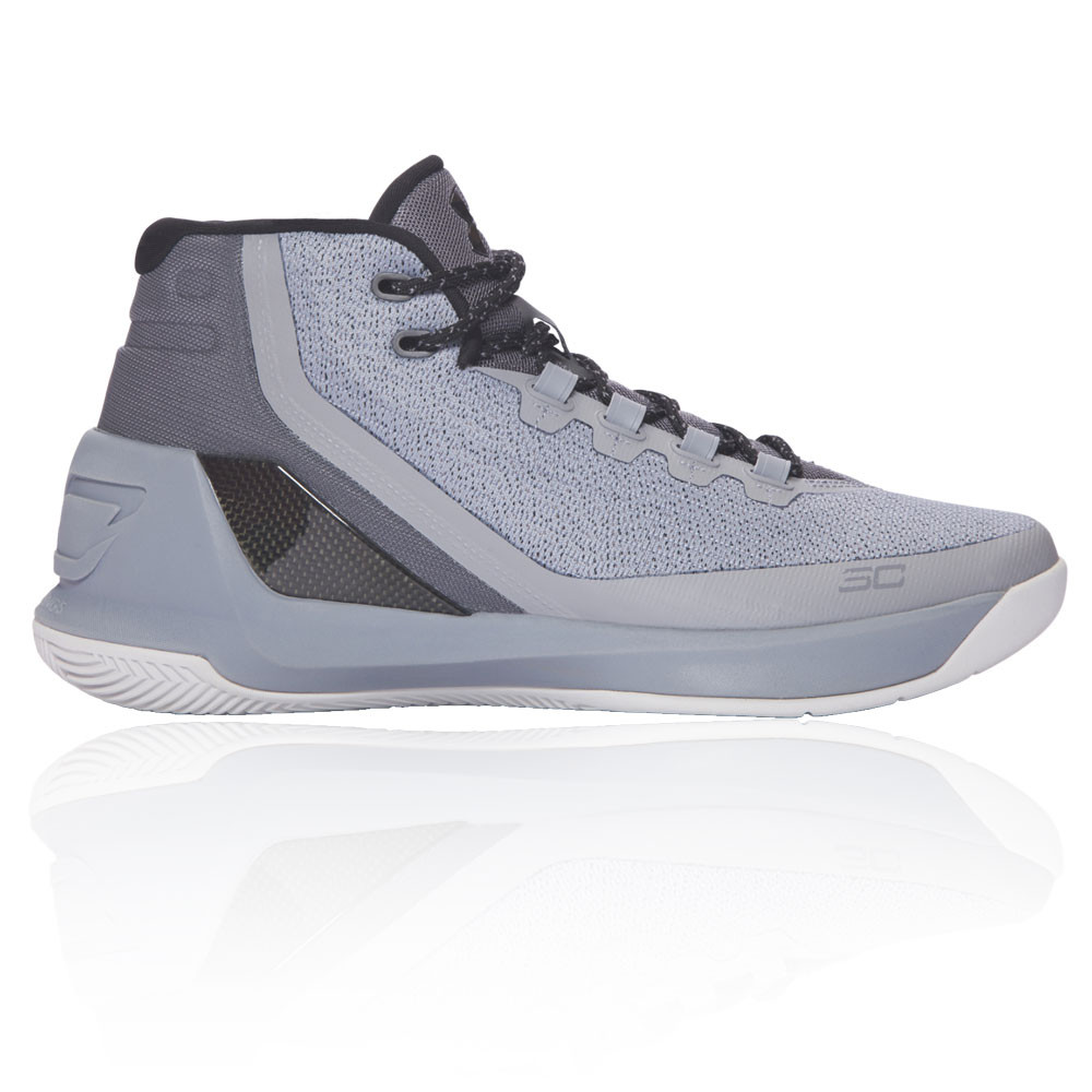 567f69d60544 Details about Under Armour Mens Curry 3 Basketball Shoes Grey Sports  Breathable