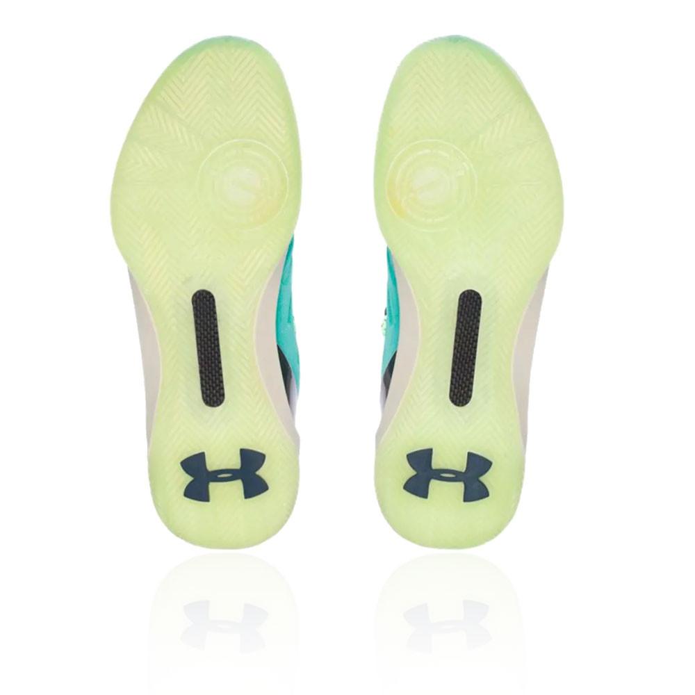 88b0dda016dfa Under Armour Hombre Curry 3 Baloncesto Zapatos Azul Deporte Transpirable