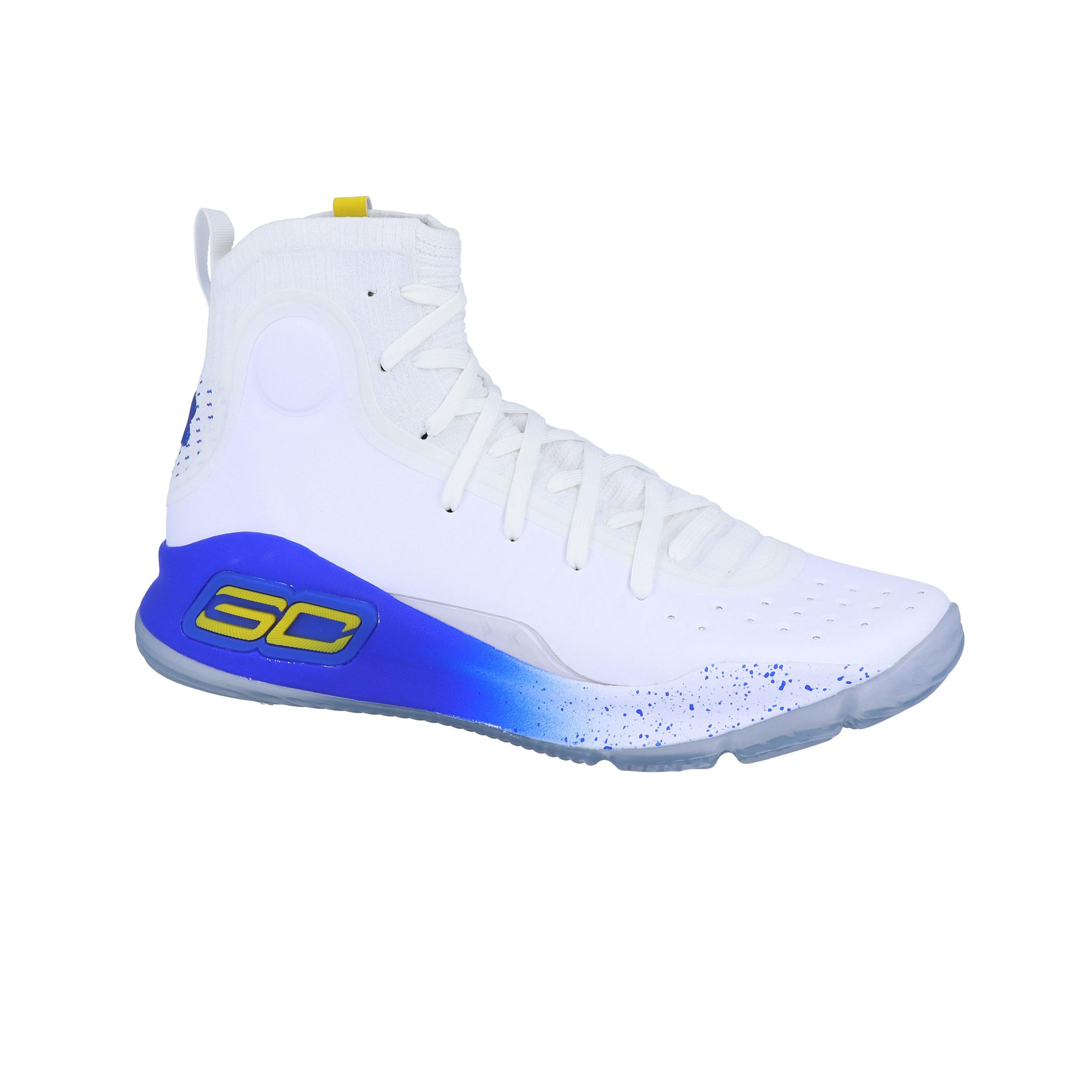 ff7fbee7acc6 Under Armour Herren Curry 4 Basketballschuhe Turnschuhe Basketball Sneaker  Weiß