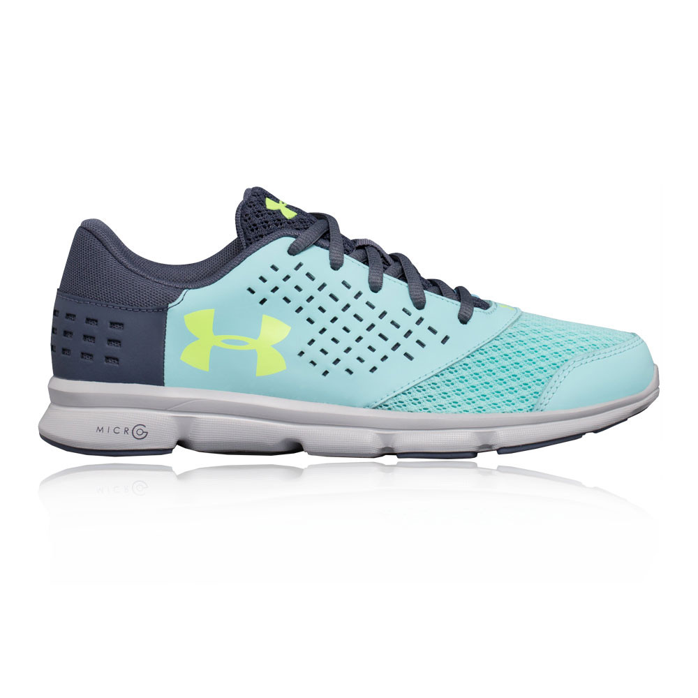 879c230a Details about Under Armour Girls Micro G Rave RN GS Junior Running Shoes  Trainers Sneakers