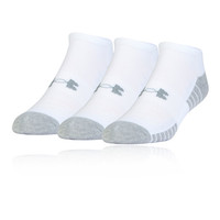 Under Armour HeatGear Tech No-Show Running Socks (3 Pack) - SS19
