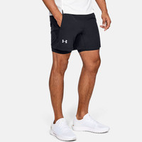 Under Armour Qualifier Speedpocket 2 en 1 pantalones cortos - SS19