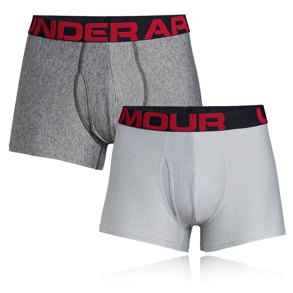 Under Armour Tech 3in Boxerjock (2 Pack) - SS20