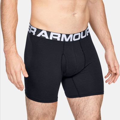 Under Armour Charged Cotton 6in Boxerjock (3 Pack) - AW19