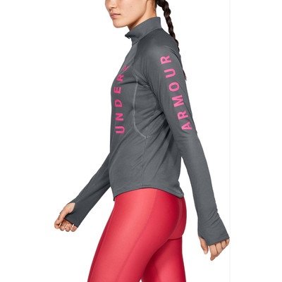 Under Armour Speed Stride Wordmark Women's Half Zip Top