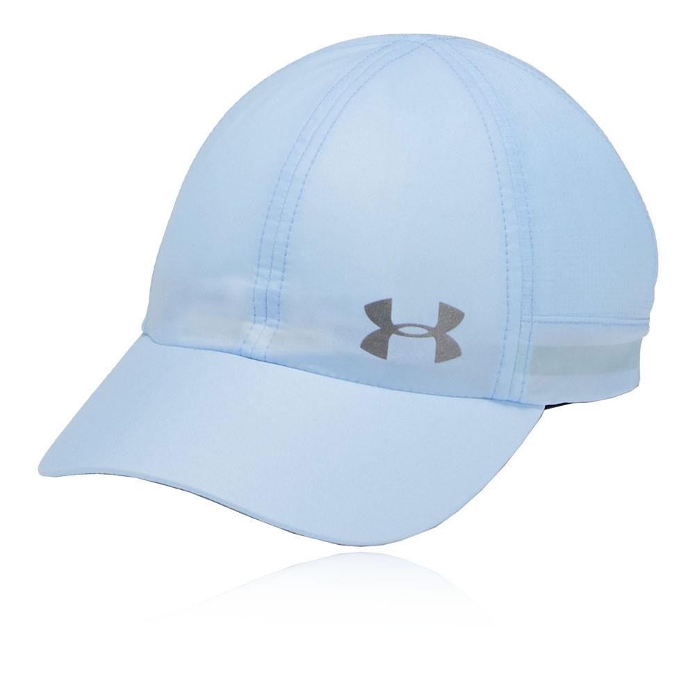 ba7ddd11a46a3 Details about Under Armour Womens Fly By Cap Blue Sports Running Breathable  Reflective