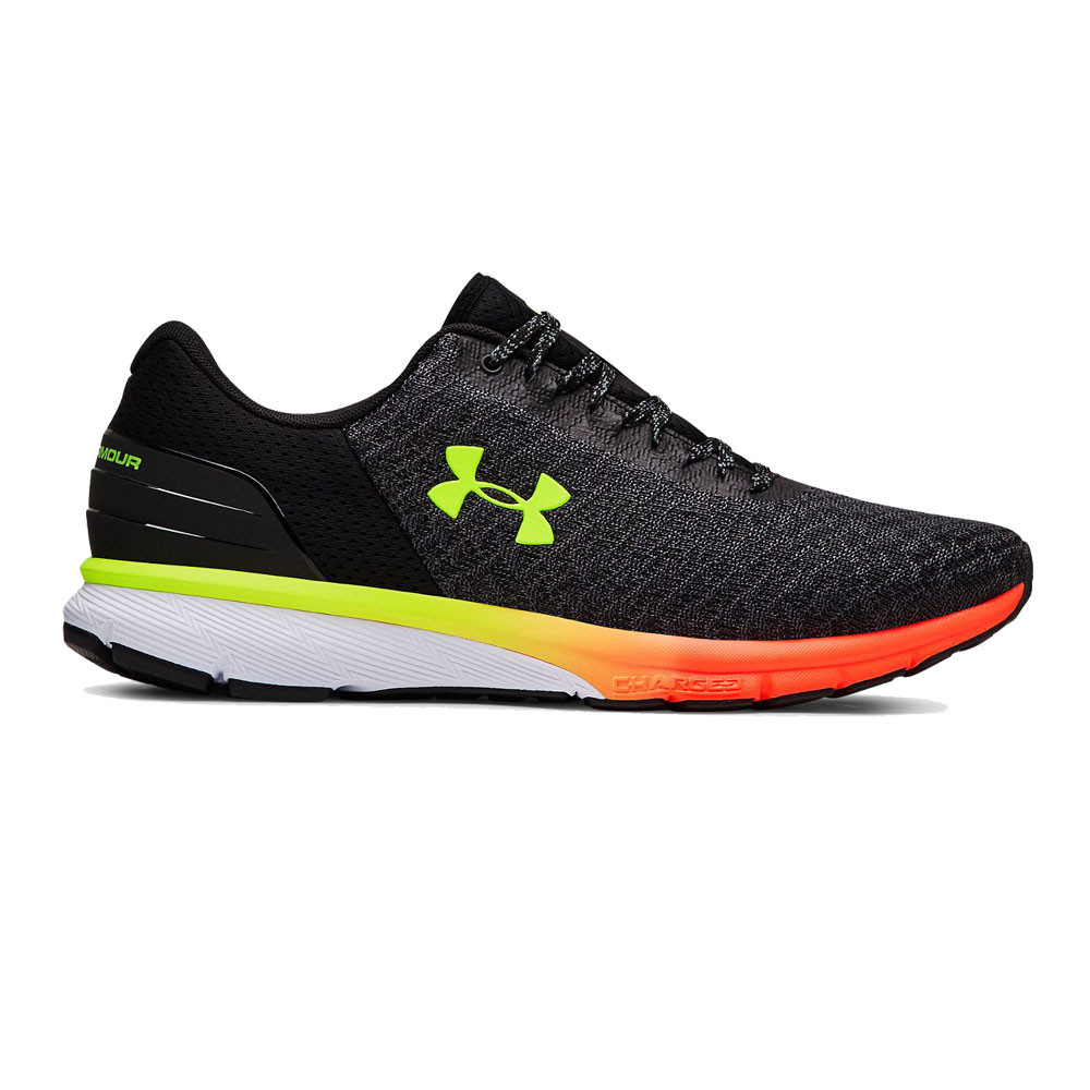 47b8941f5be5 Details about Under Armour Mens Charged Escape 2 Running Shoes Trainers  Sneakers Black Orange