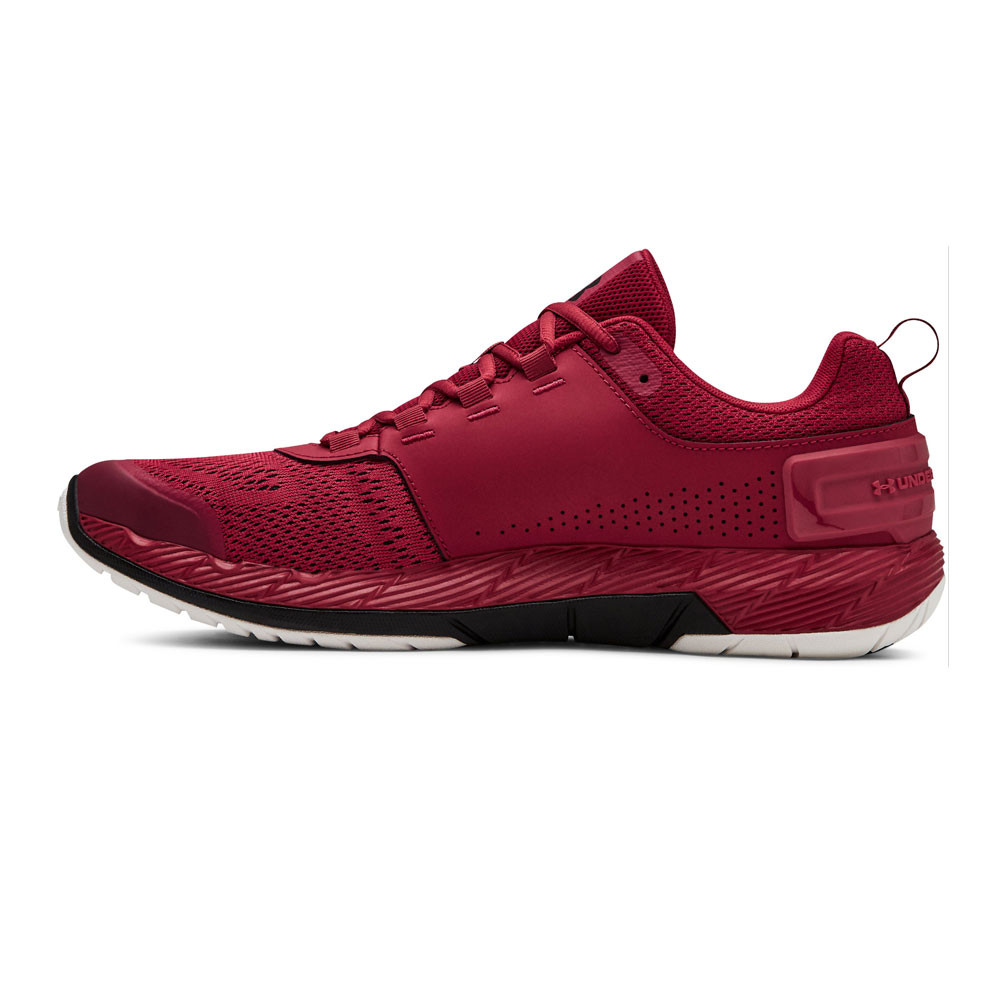 new arrival b21f8 ec207 Details about Under Armour Mens Commit TR EX Training Gym Fitness Shoes Red  Sports Breathable