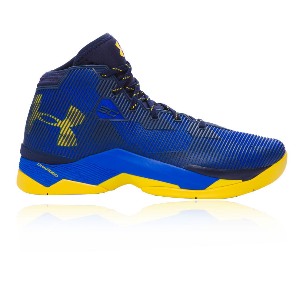 brand new a4479 19a60 Details about Under Armour Mens Curry 2.5 Basketball Shoes Blue Sports  Breathable Lightweight