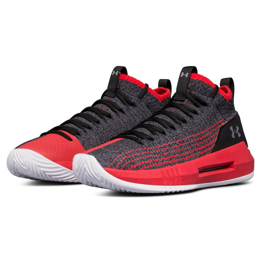 Under Armour Mens Heat Seeker Basketball Shoes Grey Sports Breathable Clothing, Shoes & Accessories