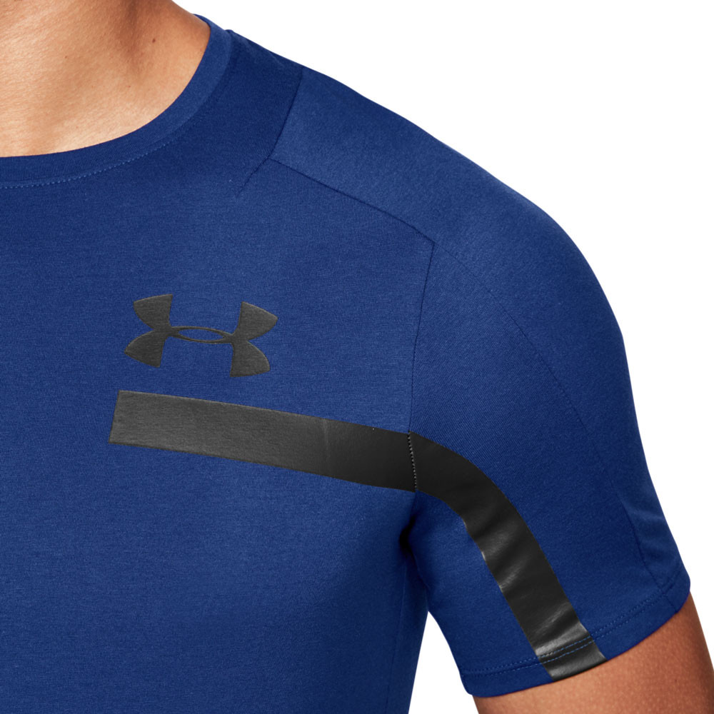 3d60e9d1a Under Armour Mens Perpetual Graphic T Shirt Tee Top Blue Sports Gym  Breathable