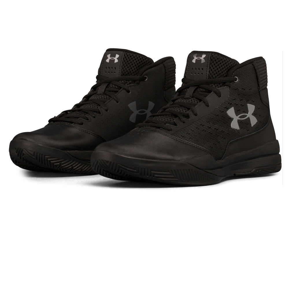 9ccca1e1641d Under Armour Mens Jet Basketball Shoes Black Sports Breathable Lightweight