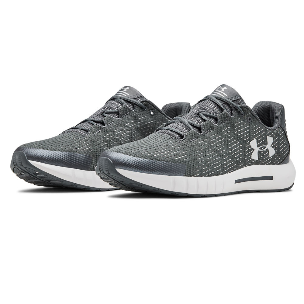 Under Armour Mens Micro G Pursuit SE Running Shoes Trainers Sneakers Black