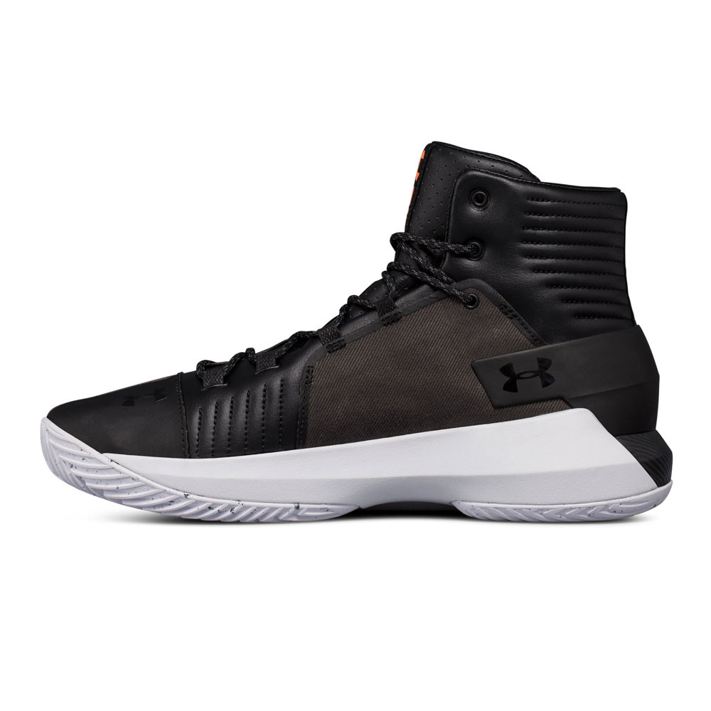 5f1c4faddbf Under Armour Mens Drive 4 Premium Basketball Shoes Black Sports Breathable