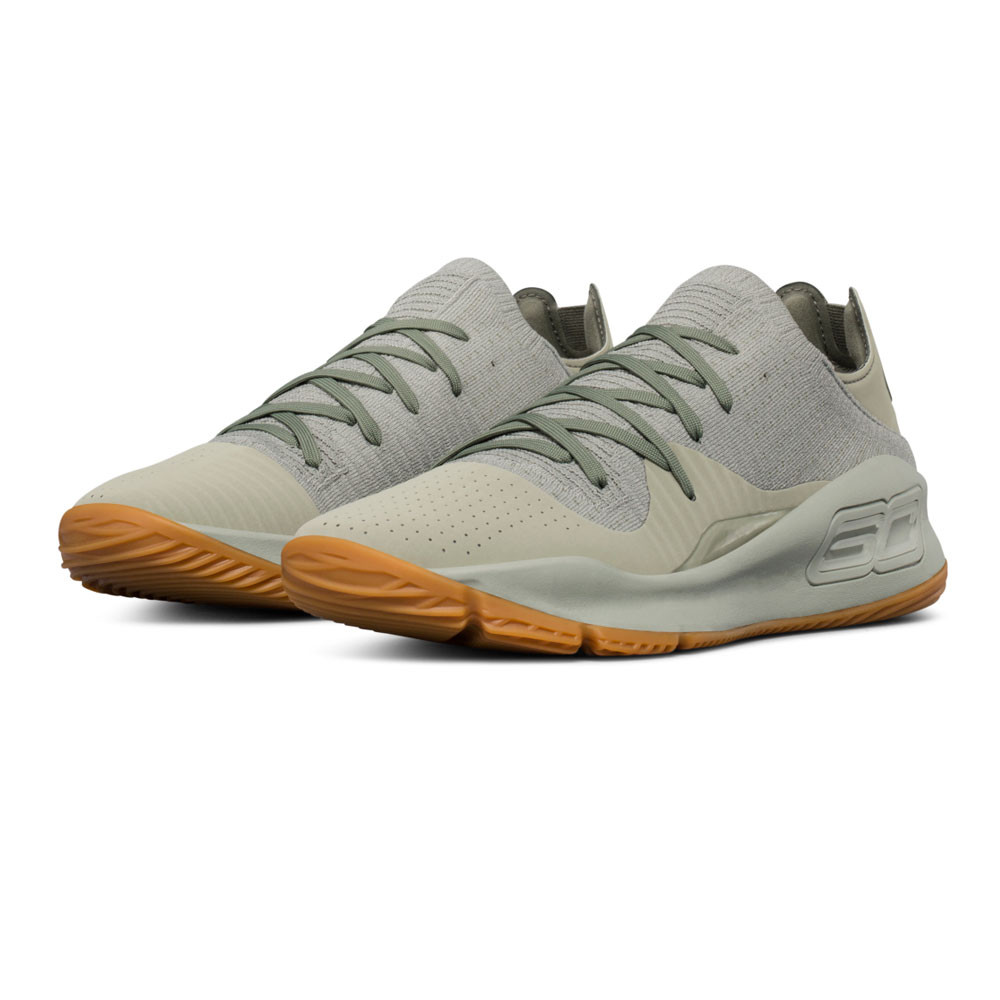 cf946bd2165 Under Armour Mens Curry 4 Basketball Shoes Sand Sports Breathable  Lightweight