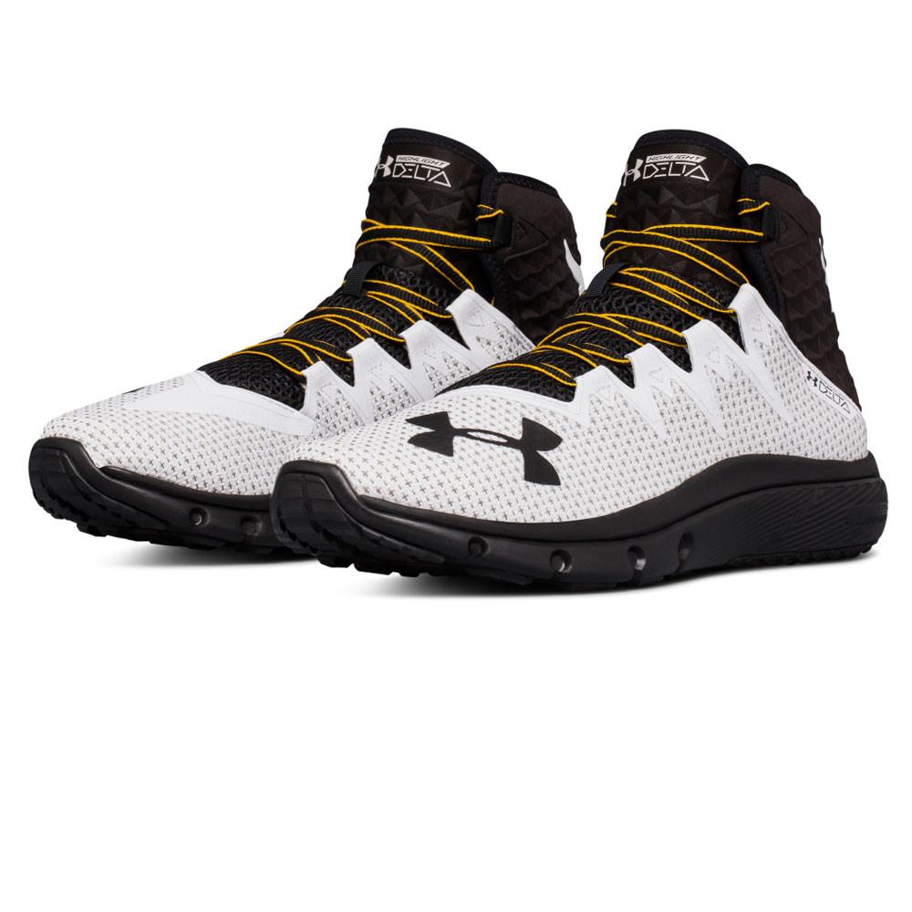 edabd8d8 Details about Under Armour Mens Project Rock Delta Training Gym Fitness Shoe  Black White
