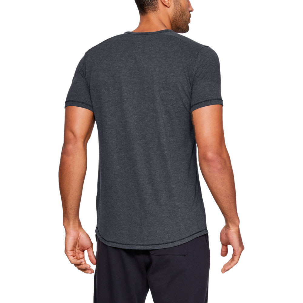 Under Armour Mens Sportstyle Triblend T Shirt Tee Top Grey Sports Gym Breathable