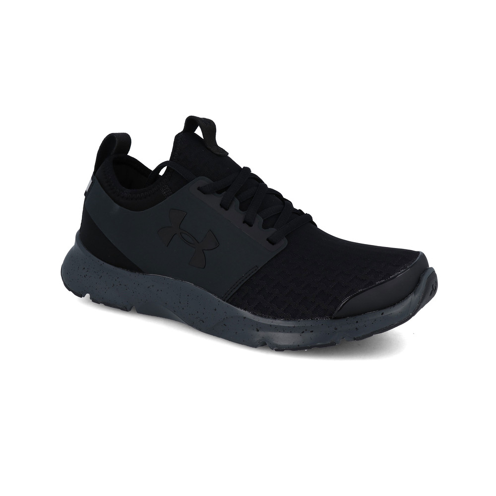 Armour-Para-Hombre-Negro-Drift-correr-Under-Shoes-Trainers-Deportes-Transpirable miniatura 15