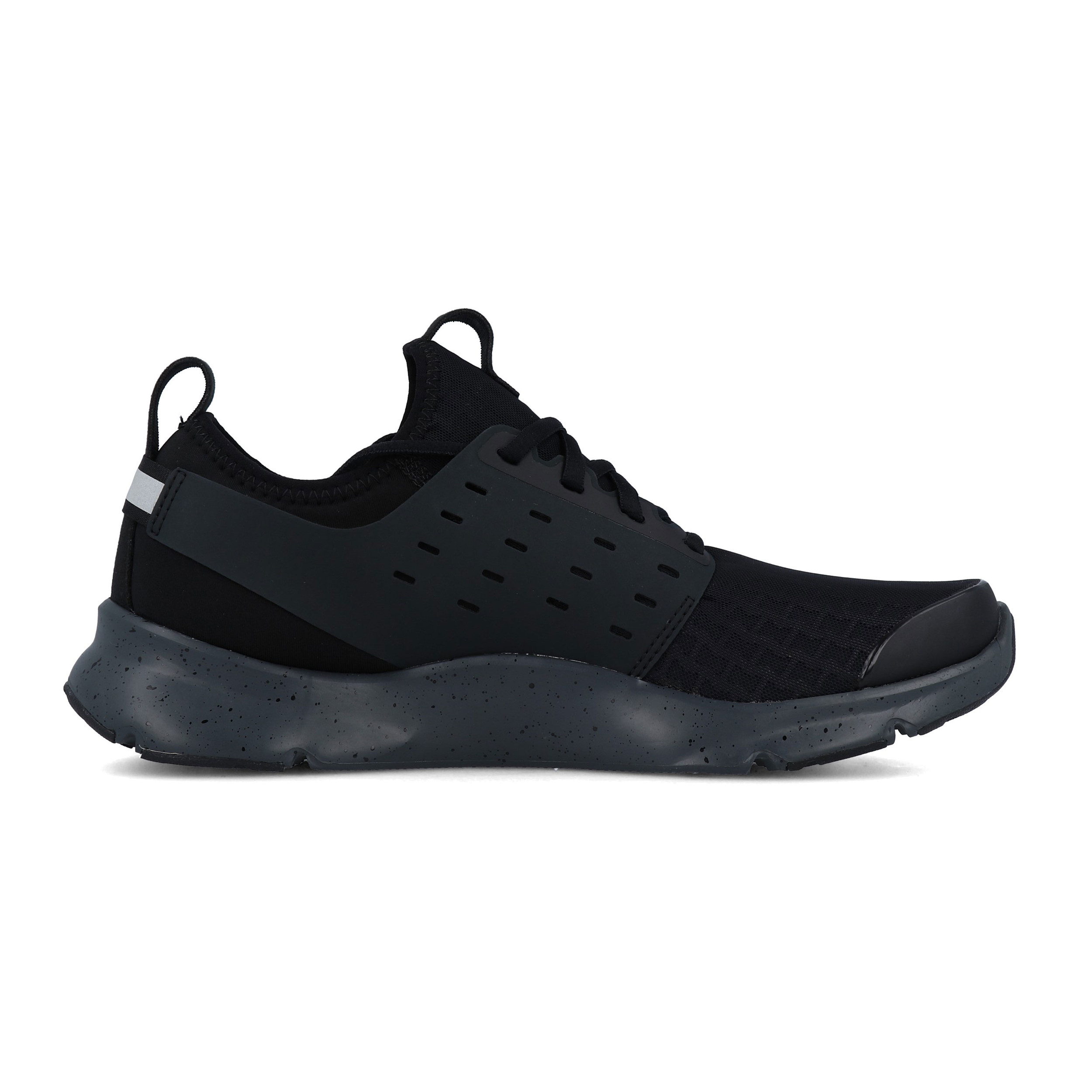 Armour-Para-Hombre-Negro-Drift-correr-Under-Shoes-Trainers-Deportes-Transpirable miniatura 6