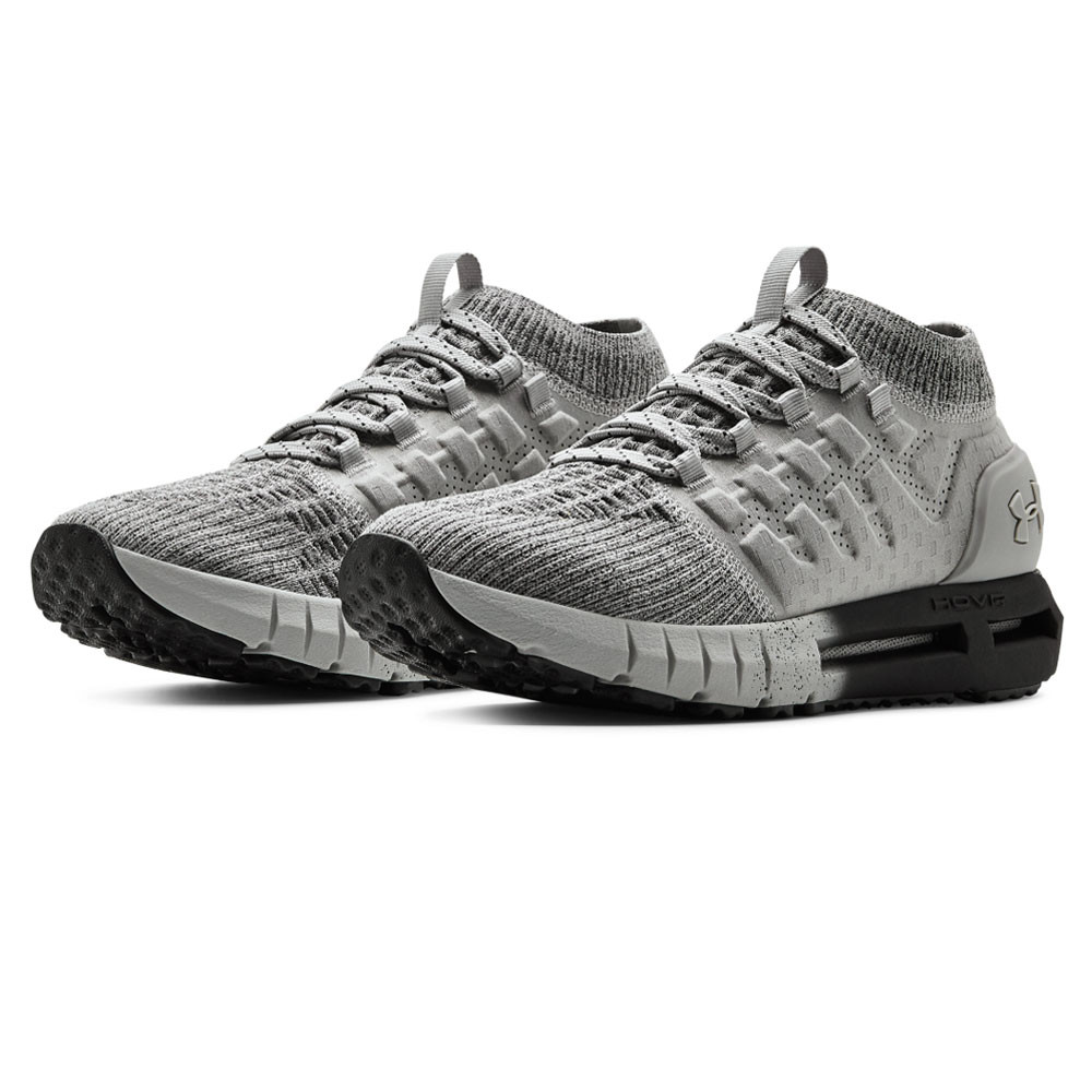 low priced 4b40e 6aa22 Details about Under Armour Mens HOVR Phantom NC Running Shoes Trainers Grey  Sports Breathable