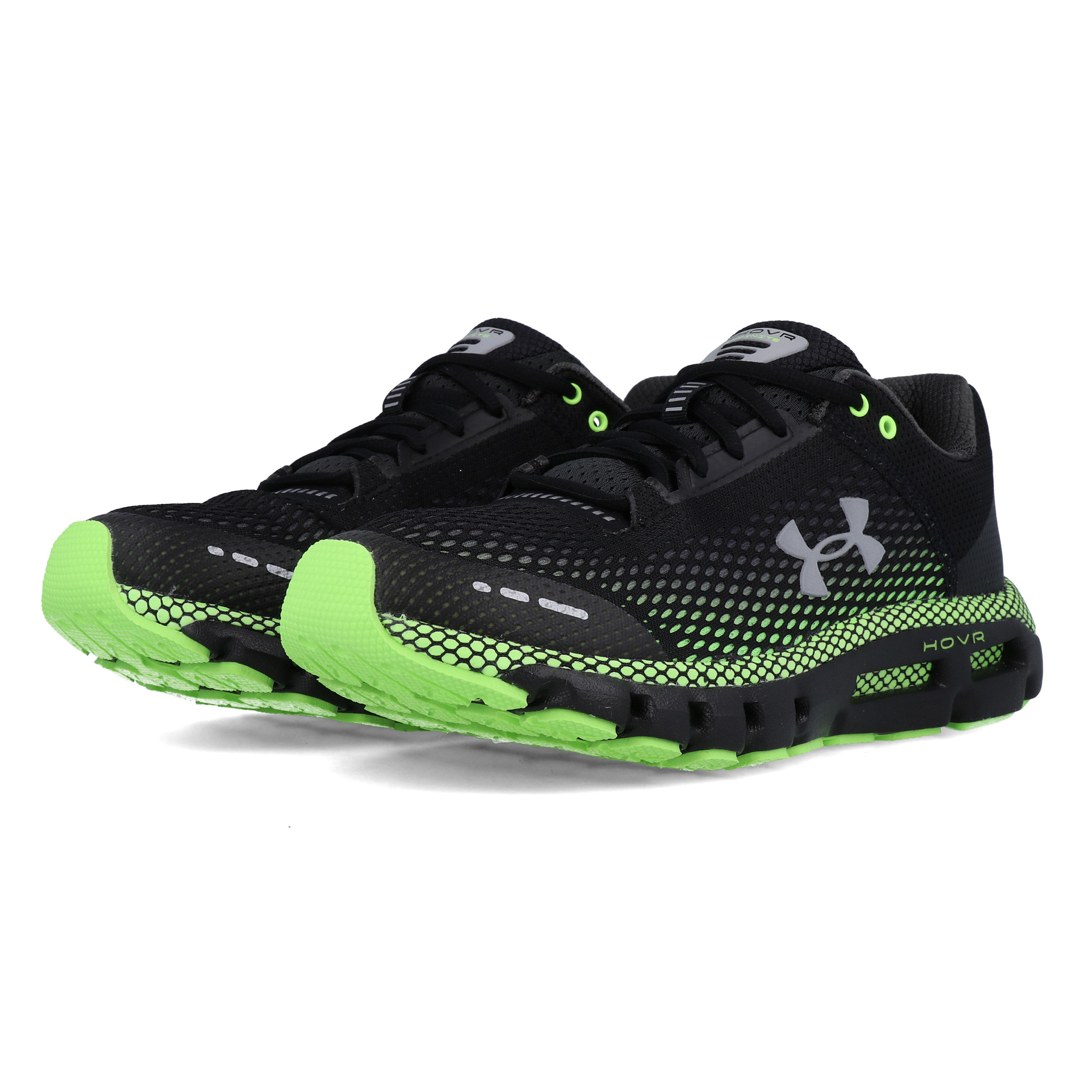 Under Armour Mens HOVR Infinite Running Shoes Trainers Sneakers Black Sports