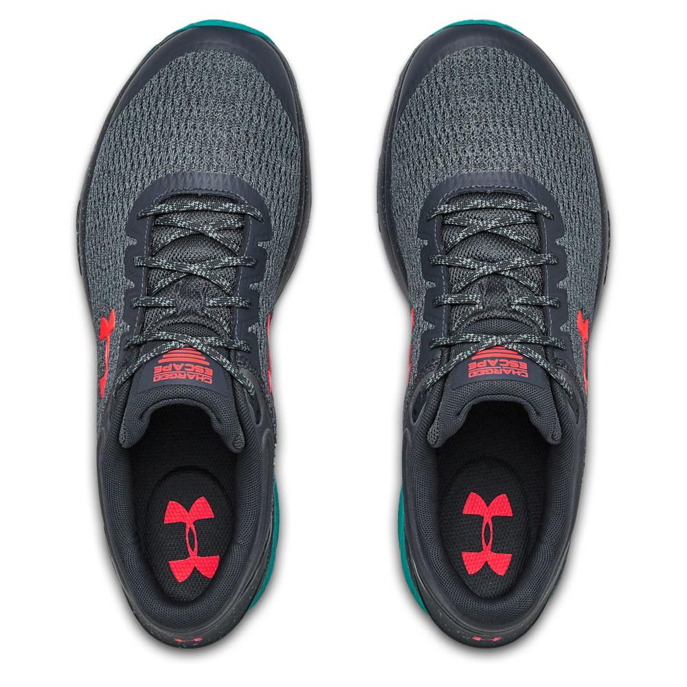 Dettagli su Under Armour Uomo Charged Escape 3 Scarpe Da Corsa Ginnastica Sport Sneakers