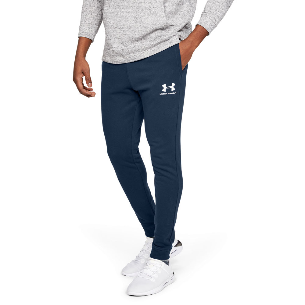 Under Armour Sportstyle Pique Jogging Bottoms Comfortable Mens Joggers for Workouts and Sport