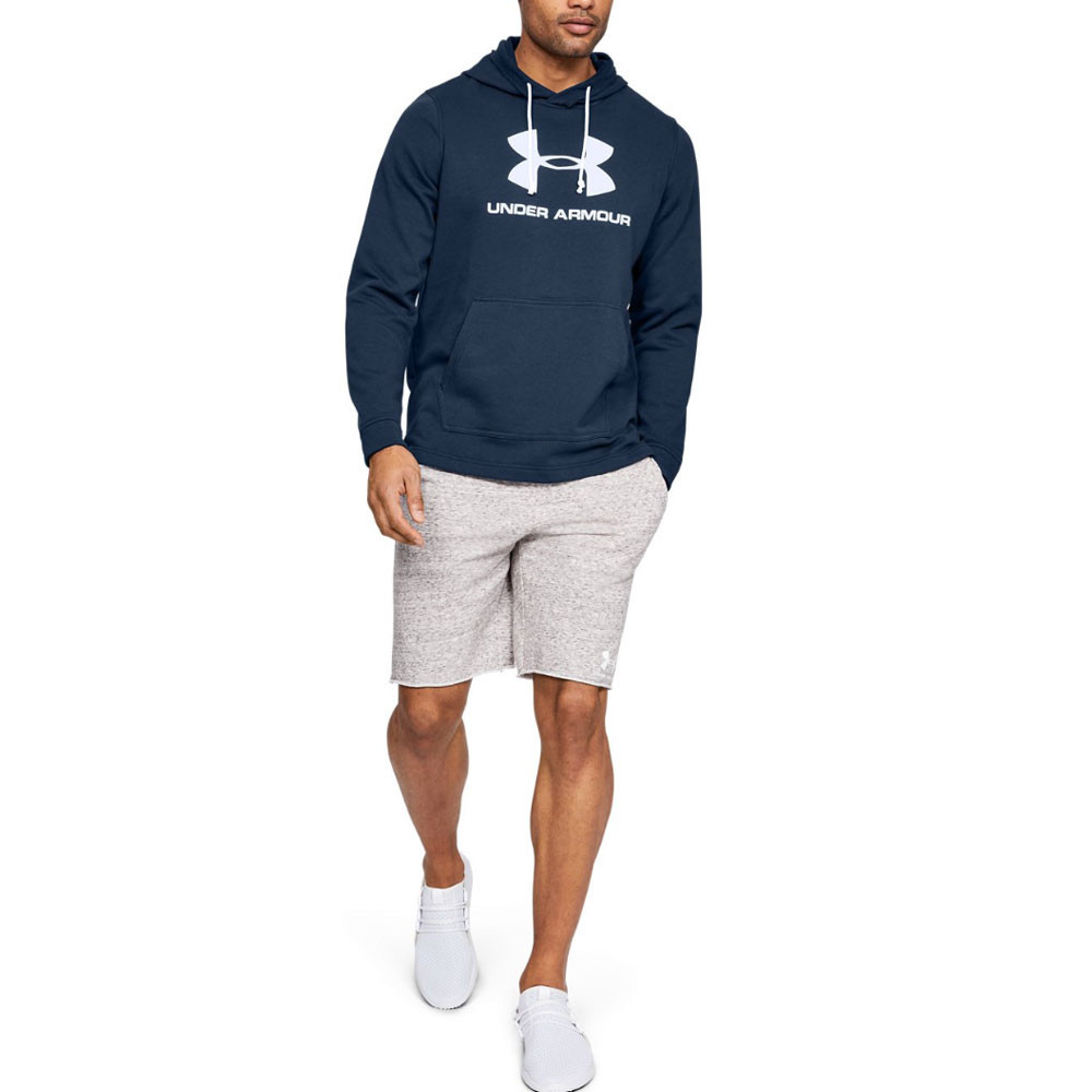 Under Armour Sportstyle Terry Logo Hoodie AW19