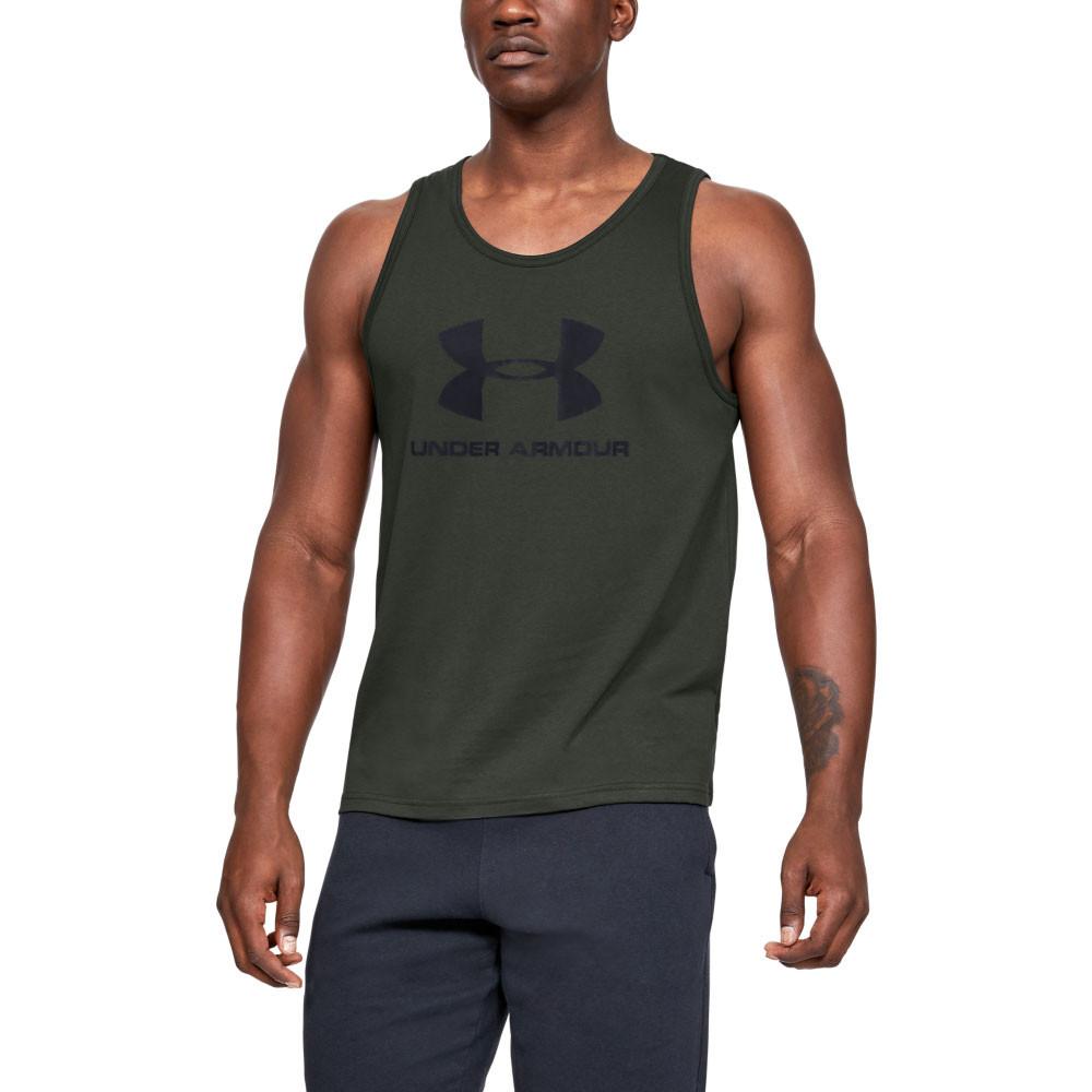 Under Armour Mens Sportstyle Logo Tank Top