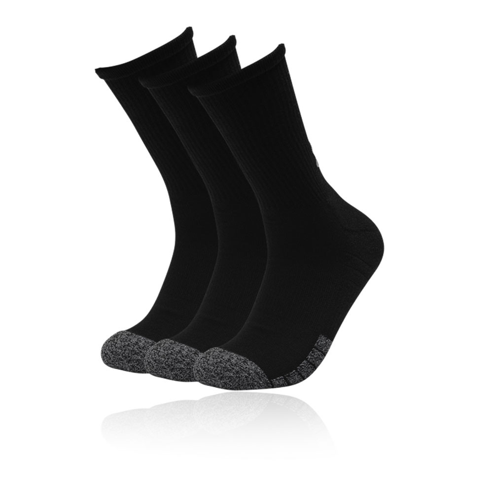 Under Armour HeatGear Crew Socks (3 Pack) - AW21
