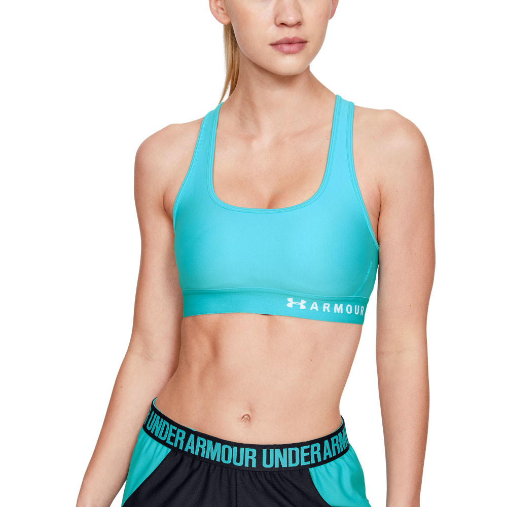 Modern Running Bra for Women Under Armour Mid Crossback Compression Sports Bra Light and Breathable High Support Sports Bra