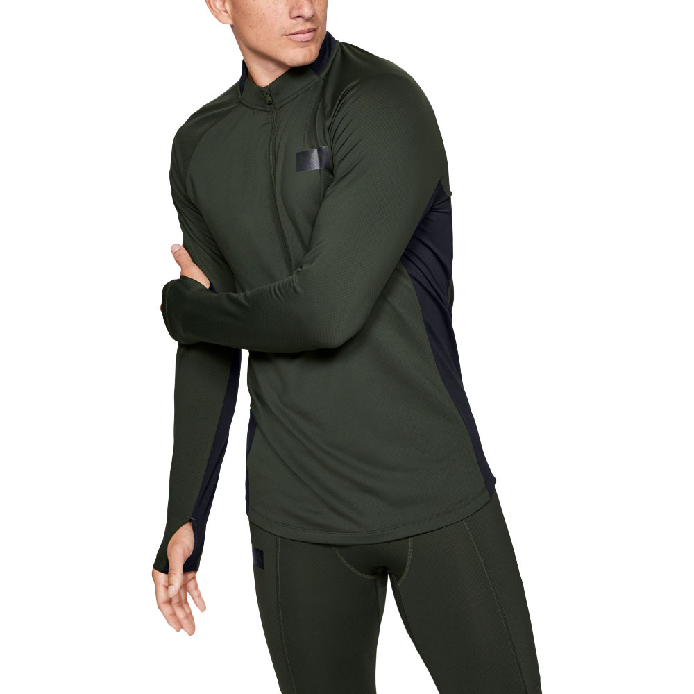 Under Armour Coldgear Grid veste demi zip AW19