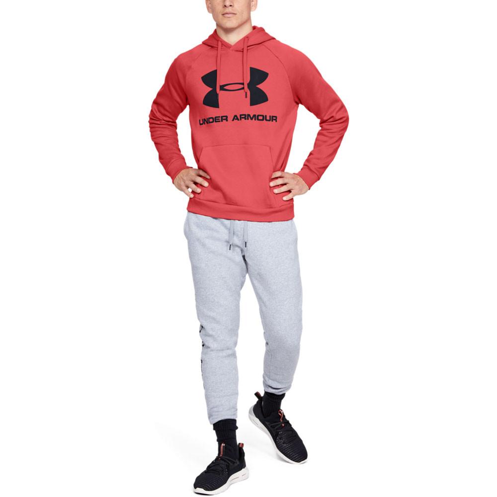 Under Armour Rival Fleece Sportstyle Logo Hoodie AW19