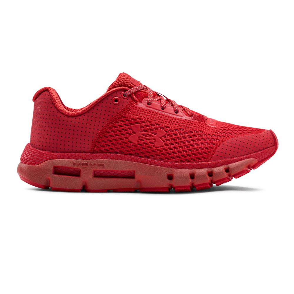 Under Armour Womens HOVR Infinite Reflect Running Shoes Trainers Sneakers Red