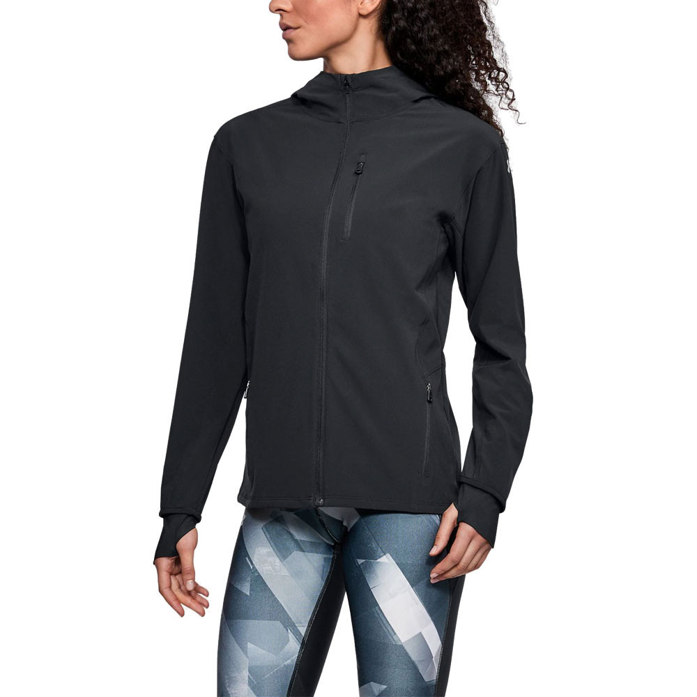 2019 mejor mejor sitio web elige mejor Under Armour Outrun the Storm para mujer chaqueta | SportsShoes.com