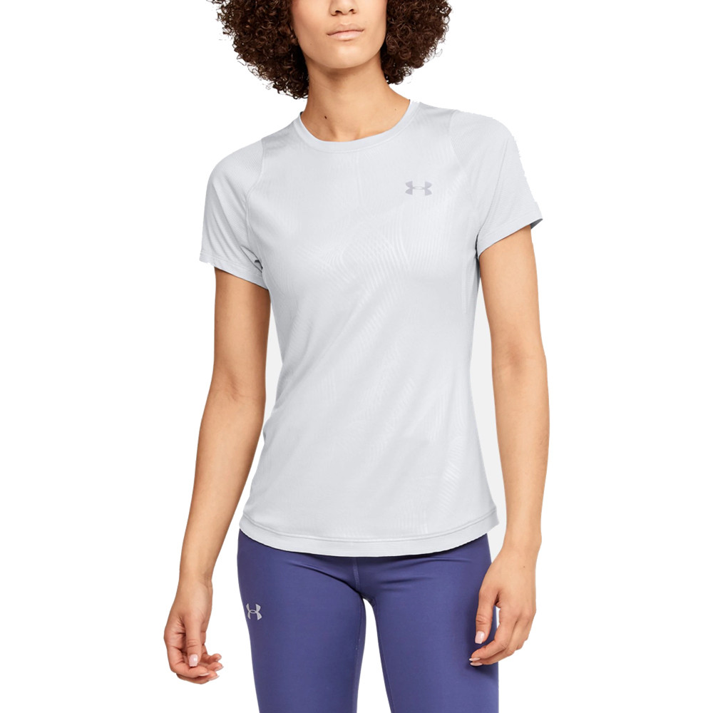 Under Armour Women's Qualifier Iso-Chill Embossed T-Shirt - SS20
