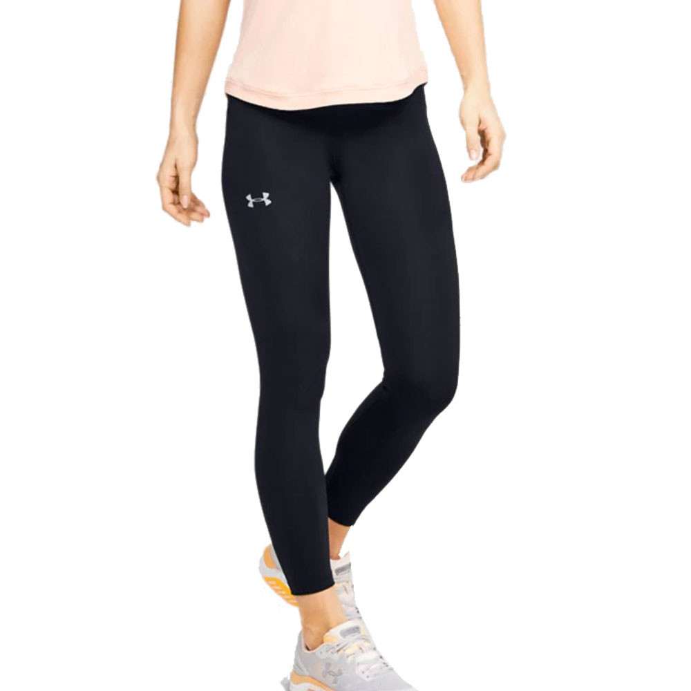 arriving hot new products good texture Under Armour Qualifier Speedpocket Perforated Women's Crop Tights ...