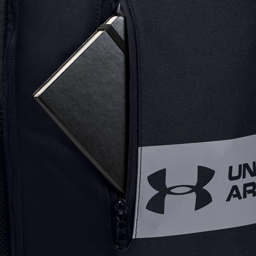Under Armour Unisex Roland Backpack Black Sports Gym Lightweight Pockets Zip
