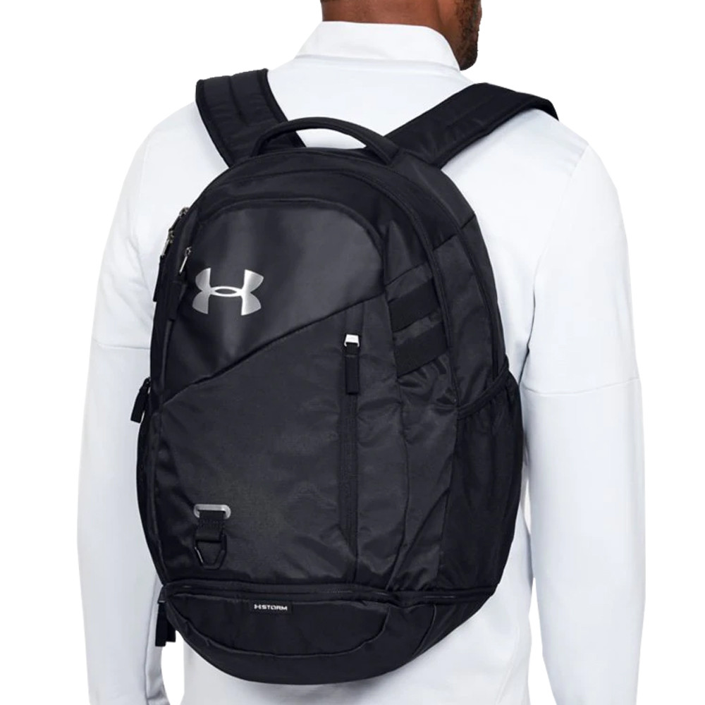 Black Sports Outdoors Gym Breathable Under Armour Mens Hustle 4.0 Backpack