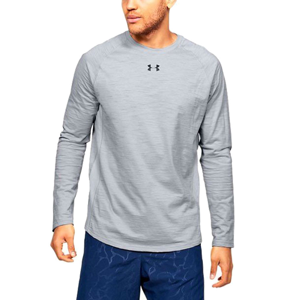 Under Armour Charged Long Sleeve Cotton Top - SS20