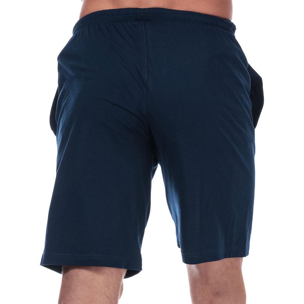 Under-Armour-Homme-Sportstyle-Coton-Short-Pantalon-Bas-Bleu-Sports miniature 7