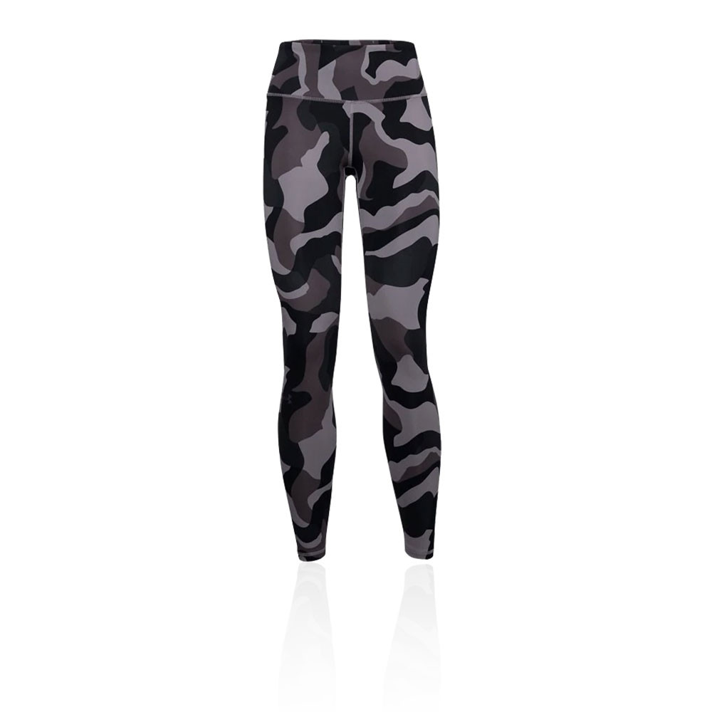 Under Armour Womens Rush Leggings Bottoms Pants Trousers Black Sports Gym