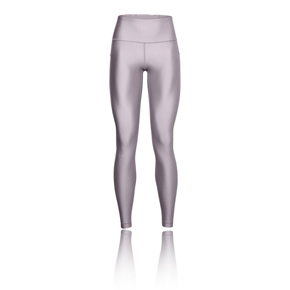 cuerno Primero Leche  Under Armour HeatGear Armour High-Rise para mujer mallas de running - AW20  | SportsShoes.com