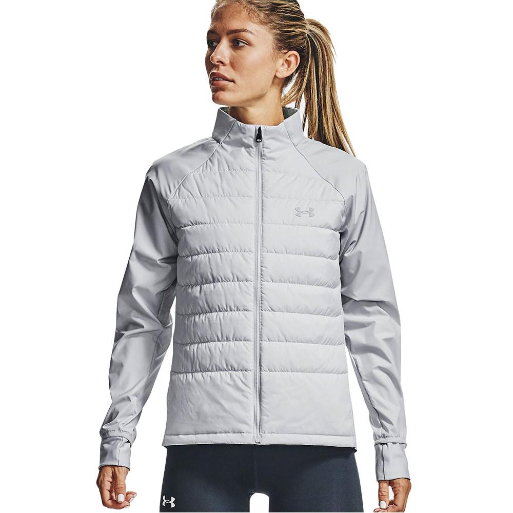 Patria Verter Eléctrico  Under Armour Run Insulate Hybrid para mujer chaqueta de running - AW20 |  SportsShoes.com