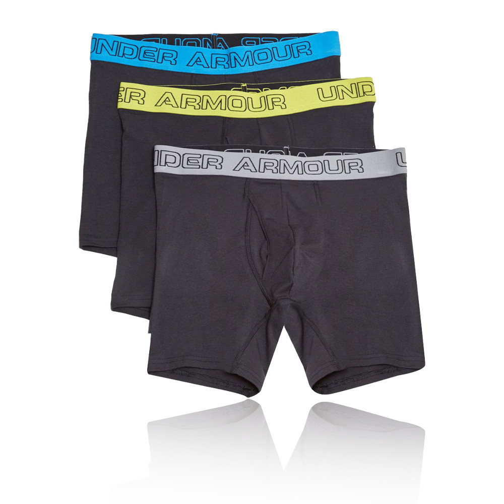 Under Armour Charged Cotton 6 Inch Boxerjock (3 Pack)