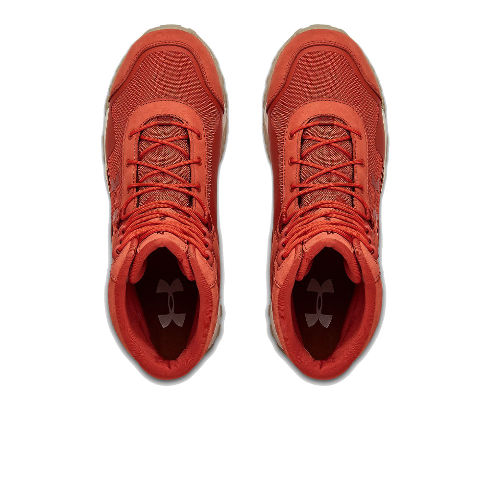 Under Armour Mens Valsetz Walking Boots Red Sports Outdoors Breathable