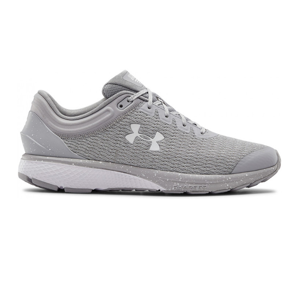 Black Sports Under Armour Mens Charged Escape 3 Running Shoes Trainers