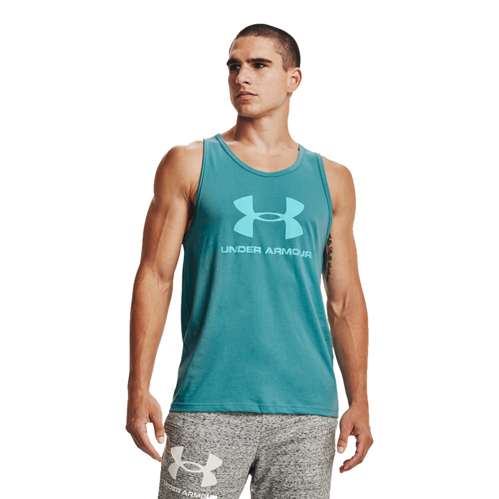 Under Armour Sportstyle Logo Tank Top - SS21